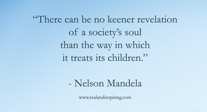Nelson Mandela Child Quote 2