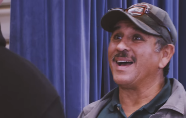 A Janitor's Biggest Surprise